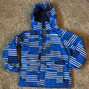 Two layer Columbia coat, size 6/7